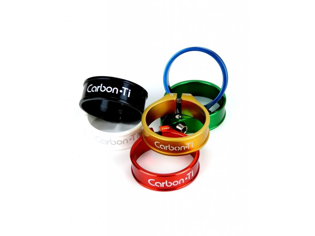 carbon ti x clamp 3 seatclamp 36 9mm 10g