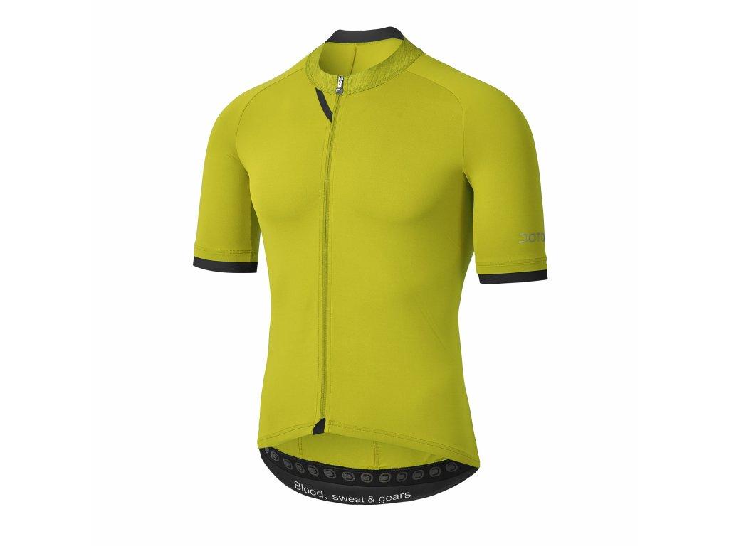 Pánský cyklistický dres Dotout Kyro Jersey Lime