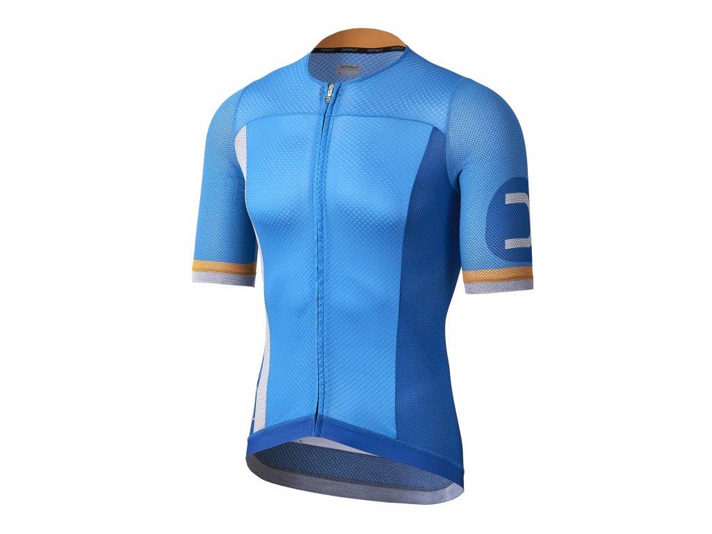 Pánský cyklistický dres Dotout Aero-Light Jersey China Blue