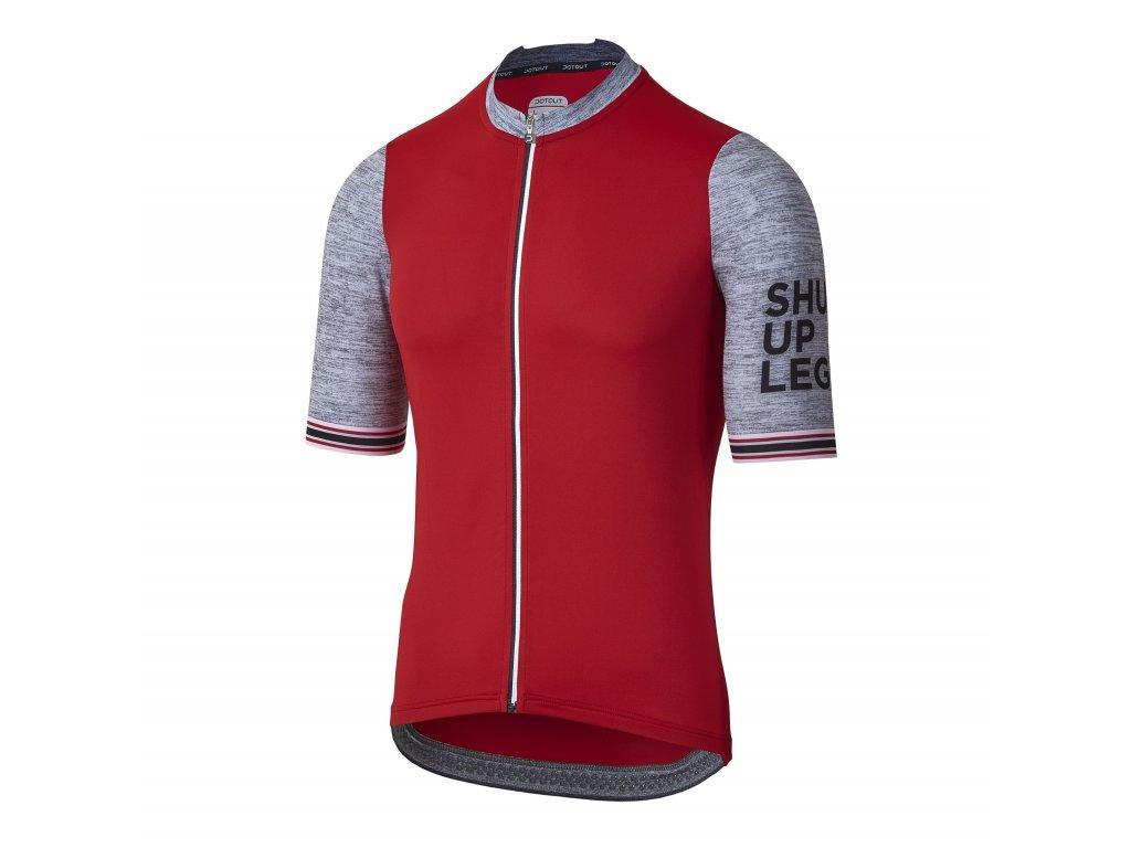 Pánský cyklistický dres Dotout Venture Jersey Red