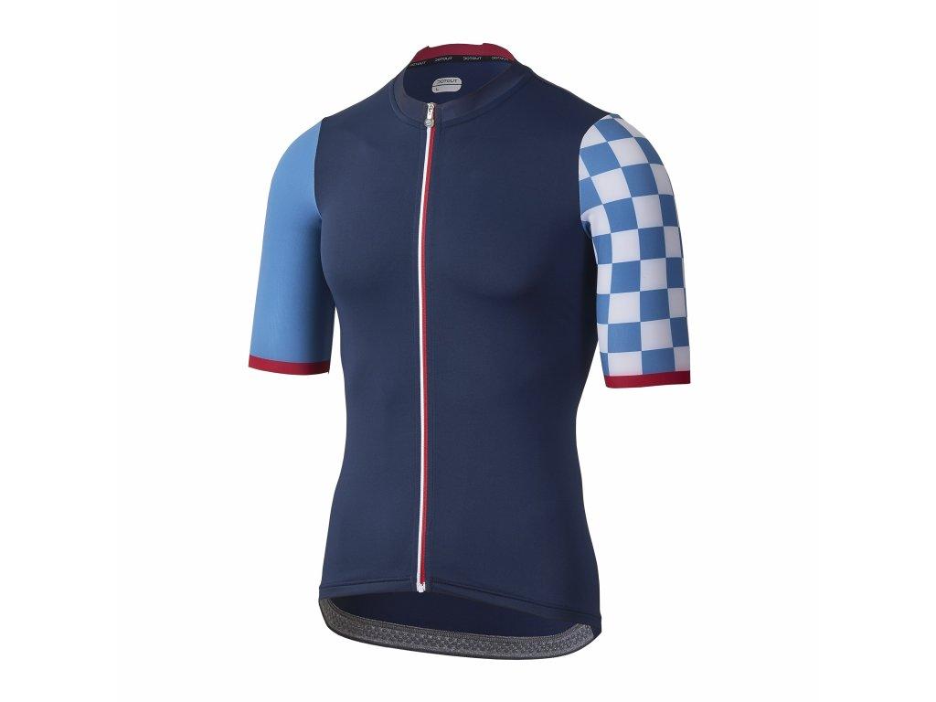 Pánský cyklistický dres Dotout Fanatica Jersey Blue