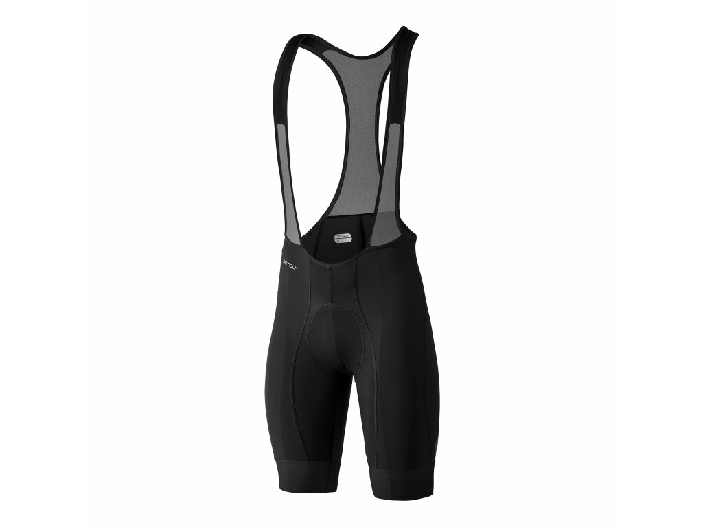 Pánské cyklistické kalhoty Dotout Power Bib Short Dark Grey