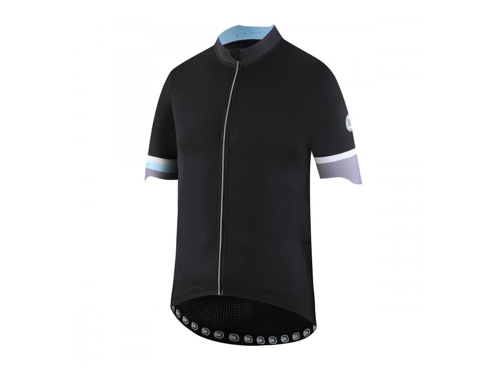 Pánský cyklistický dres Dotout Bodylink Wind Jersey Black