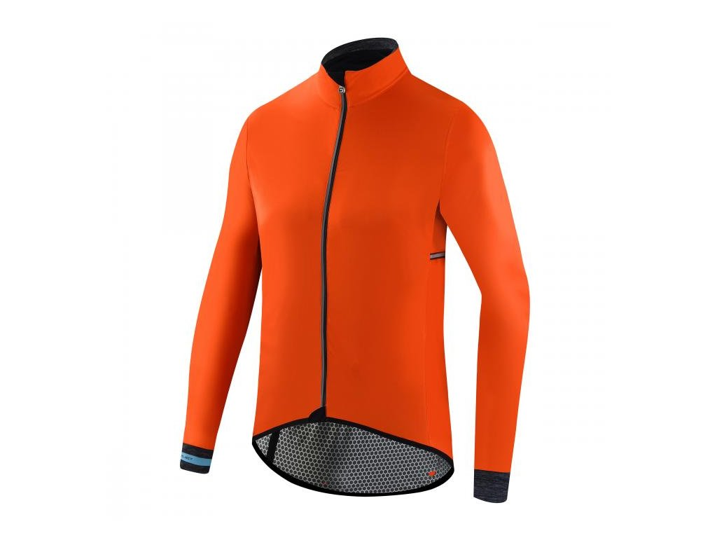 Pánská cyklistická bunda Dotout Hurricane Jacket Orange