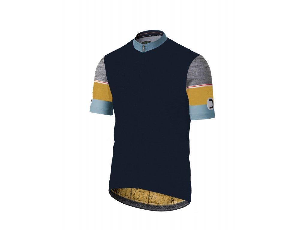 Pánský cyklistický dres Dotout Hero Jersey Blue