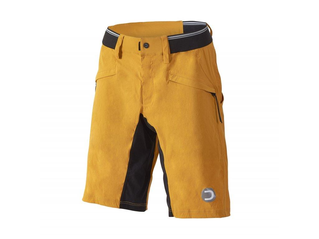 Pánské MTB kalhoty Dotout Iron Pant Yellow