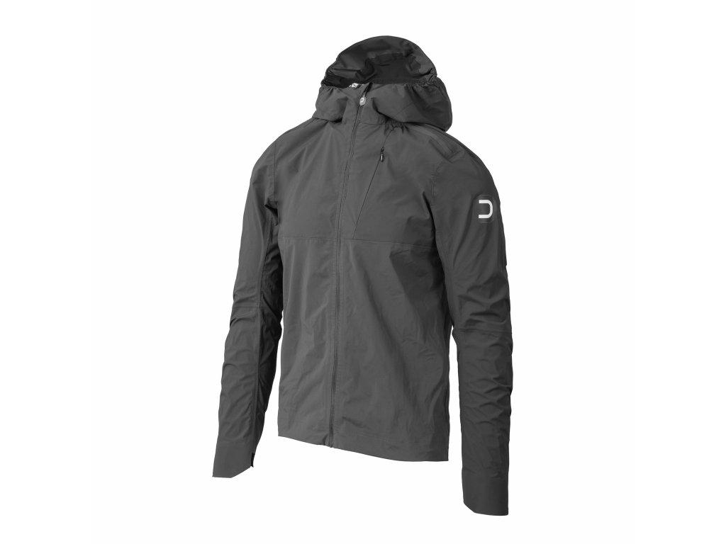 Pánská cyklistická bunda Dotout Dot GPN Hood Jacket Anthracite
