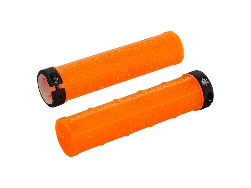 268454 grizips clear neon orange clear
