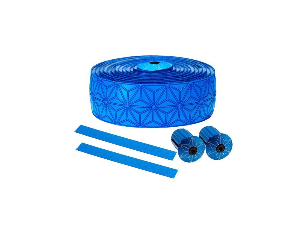 Supacaz Super Sticky Kush Single Colour Bar Tape neon blue bar tape