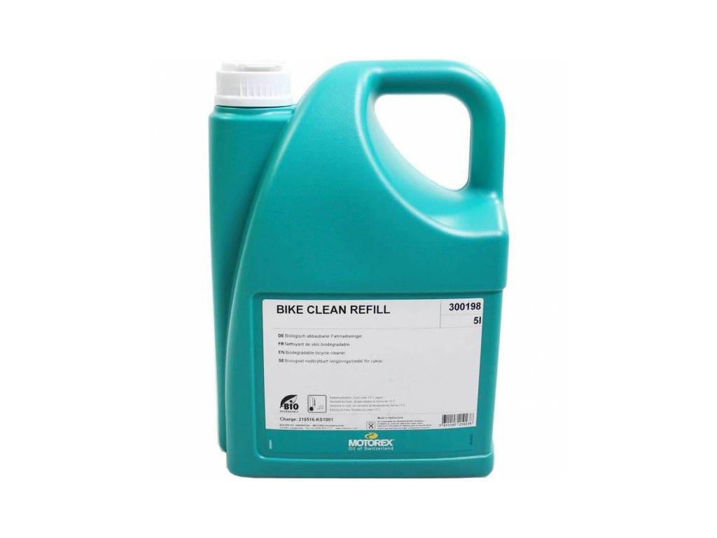 motorex bike clean cleaning agent can 5l 7611197210238 0 l