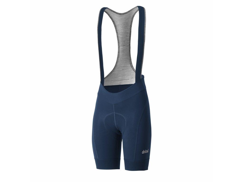 Dámské cyklistické kalhoty Dotout Cosmo W Bib Short - blue