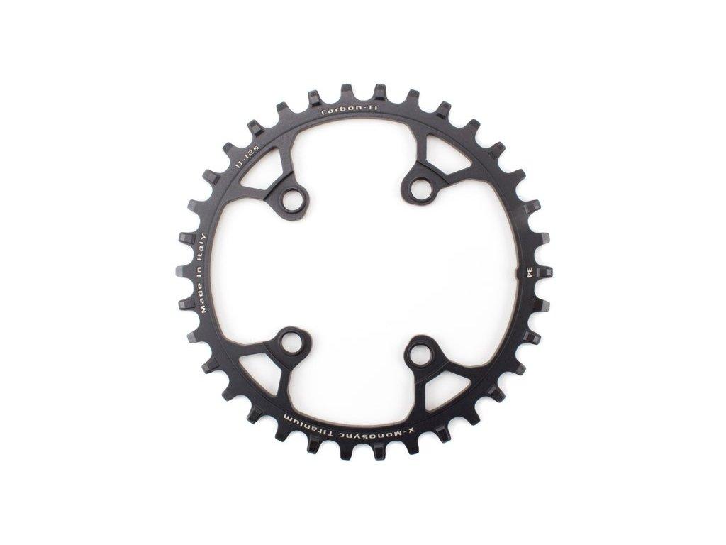 Carbon-TI X-MonoSync Ti 34 x 76 Black
