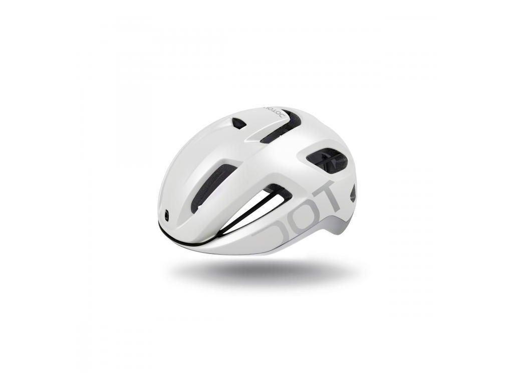 Cyklistická přilba Dotout Coupé -  Pearl Matt White/Shiny Light Grey