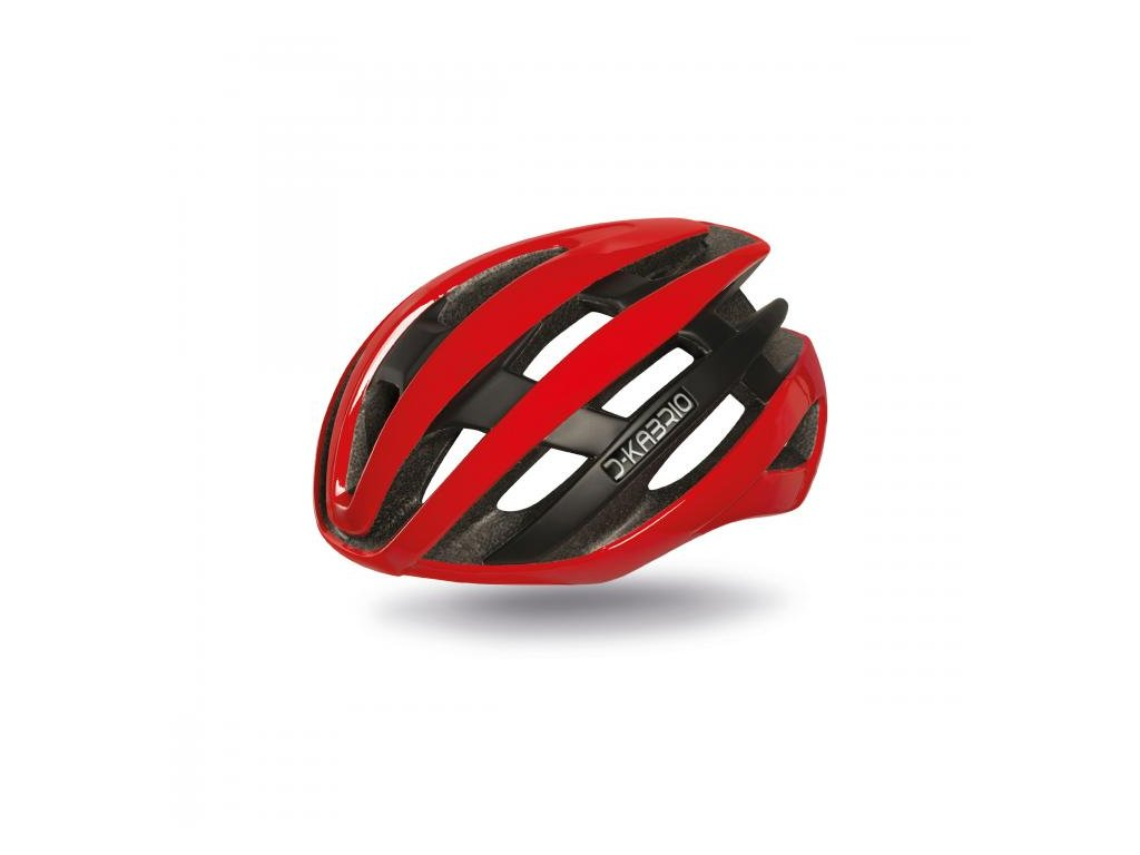 Cyklistická přilba Dotout Kabrio -  Shiny Red
