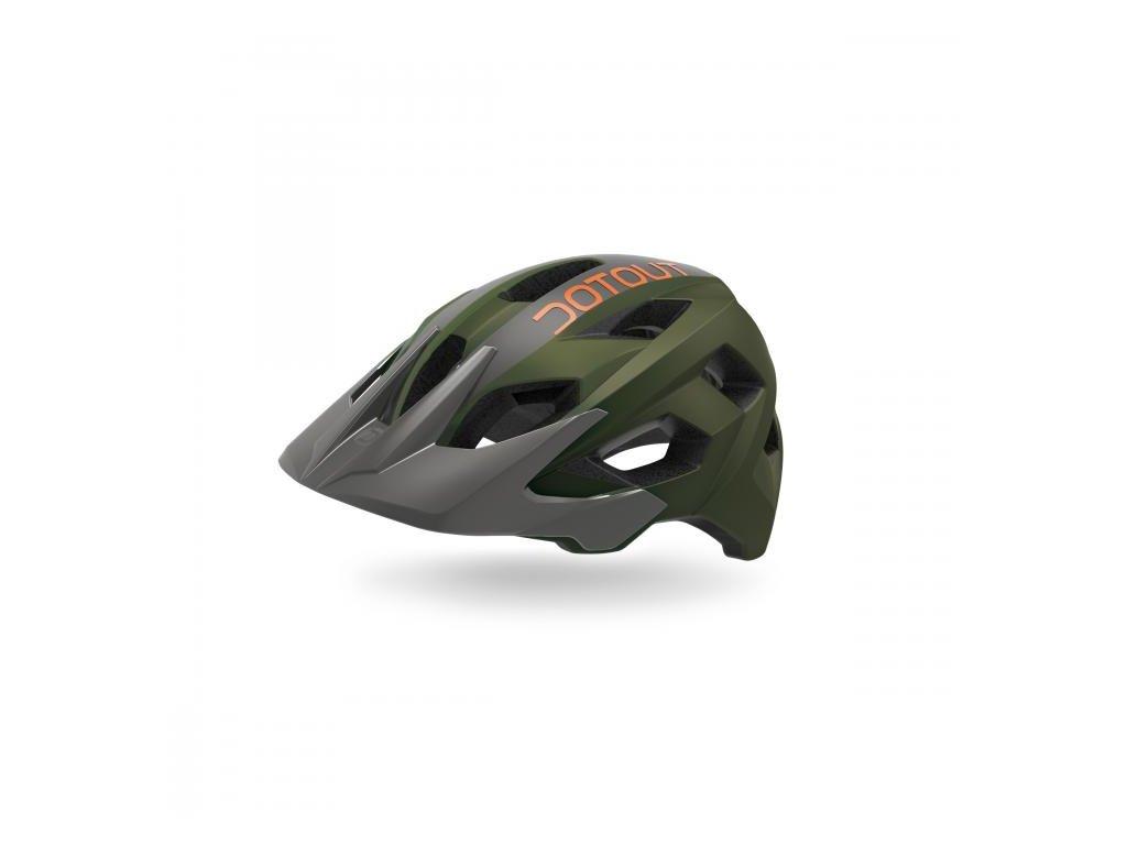 Cyklistická přilba Dotout Hammer - Matt Dark Green/Matt Dark Grey