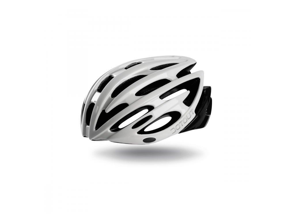 Cyklistická přilba Dotout Shoy - Shiny White/Shiny Black