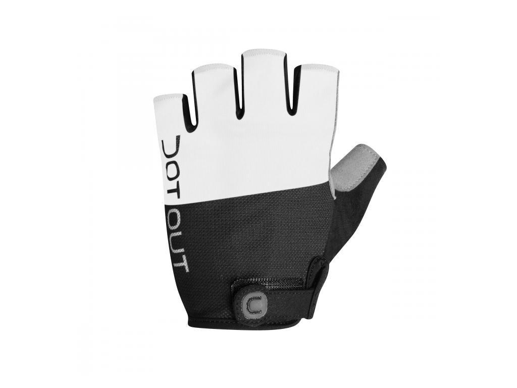 Rukavice Dotout Pin Glove White/Black A16x001-009