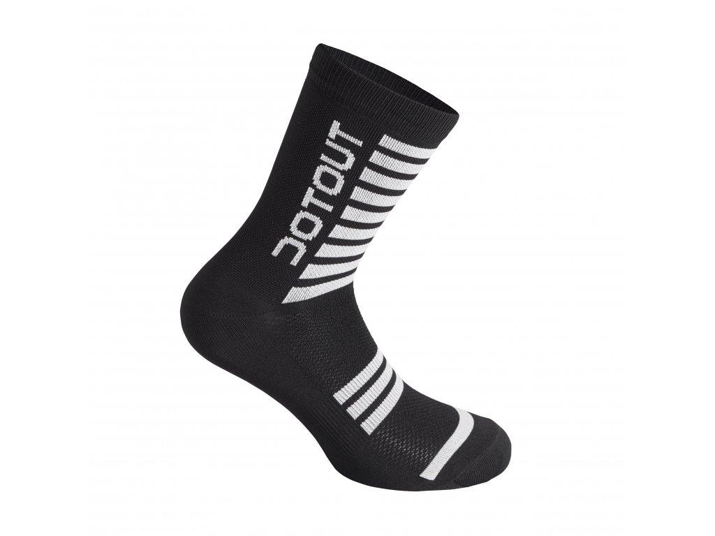 Ponožky Dotout Stripe Socks Black/White A20x120-912