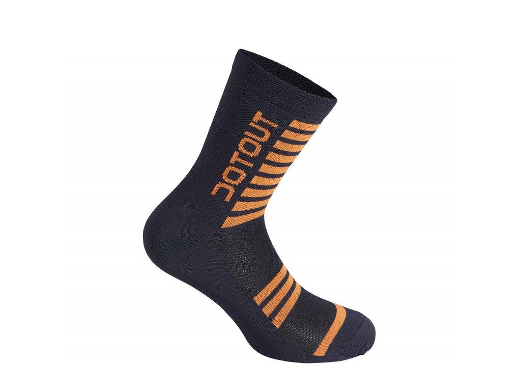 Ponožky Dotout Stripe Socks Deep Blue/Fluo Orange A20x120-71f