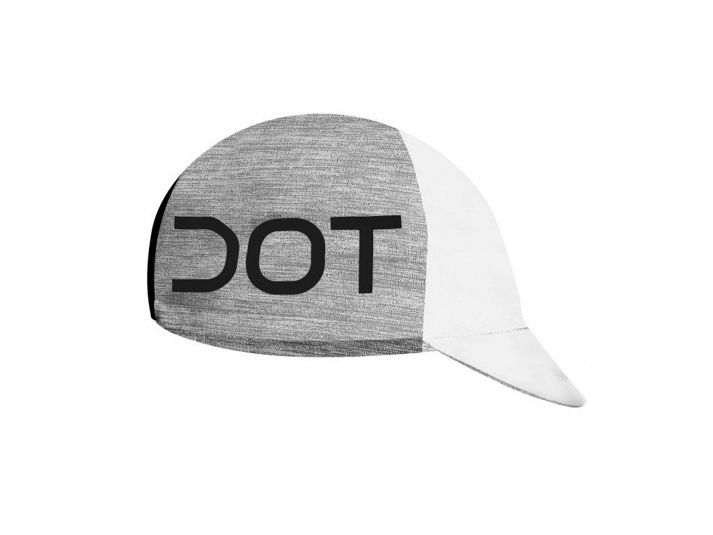 Čepička Dotout Team Cap White/Red A19x300-003