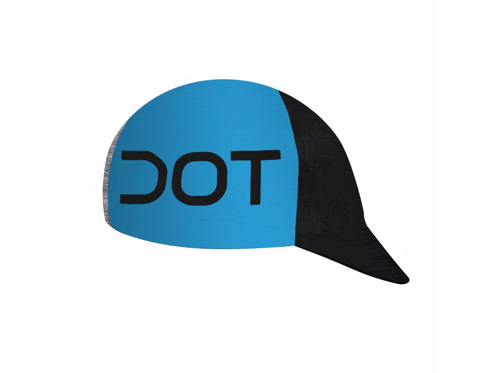 Čepička Dotout Team Cap Black/China Blue A19x300-976