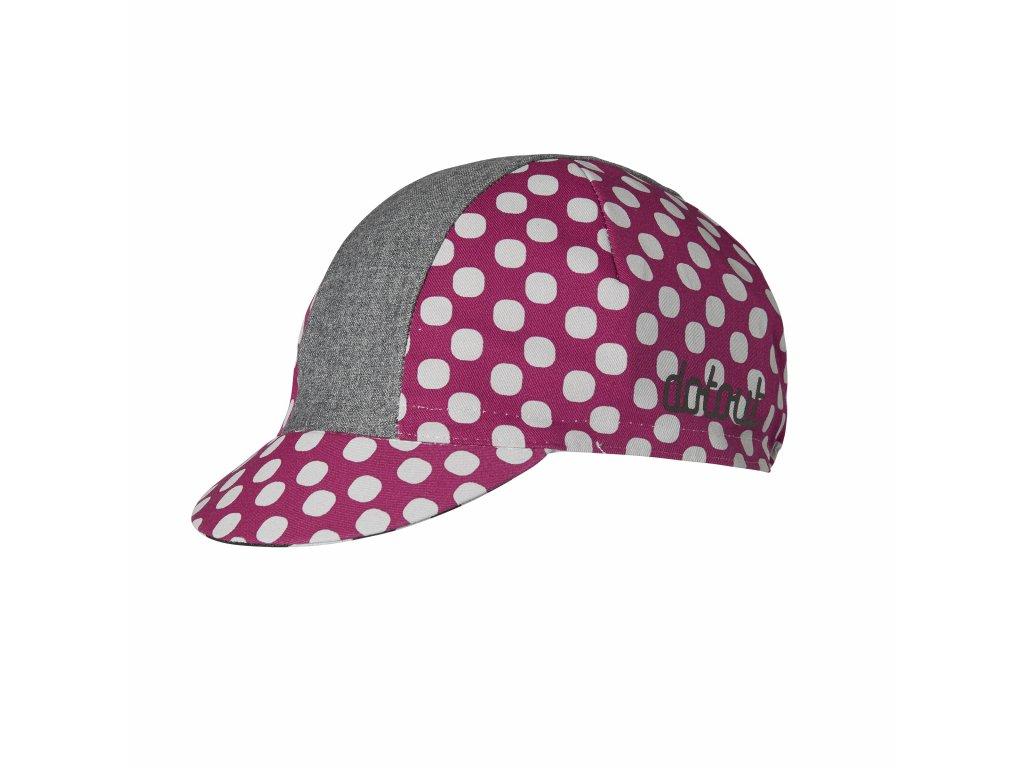 Čepička Dotout Dots W Cap Cherry/White A20x314-490