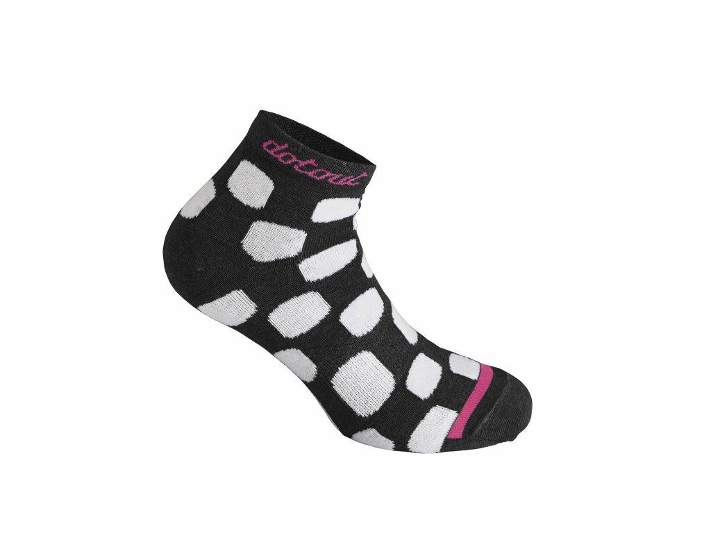 Ponožky Dotout Dots W Socks Black A20x170-900