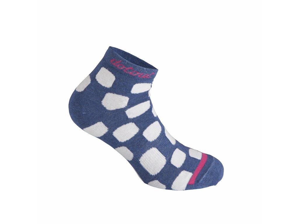 Ponožky Dotout Dots W Socks Black A20x170-420