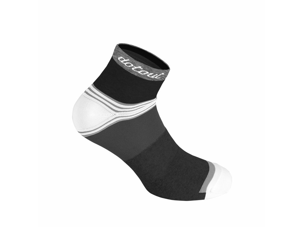 Ponožky Dotout Stripe W Socks Black A20x160-900