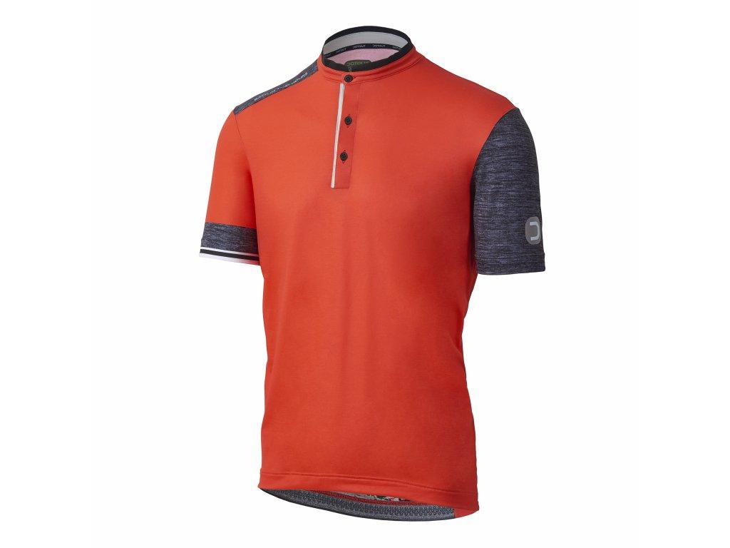 Cyklistický dres Dotout Stone Jersey - Orange