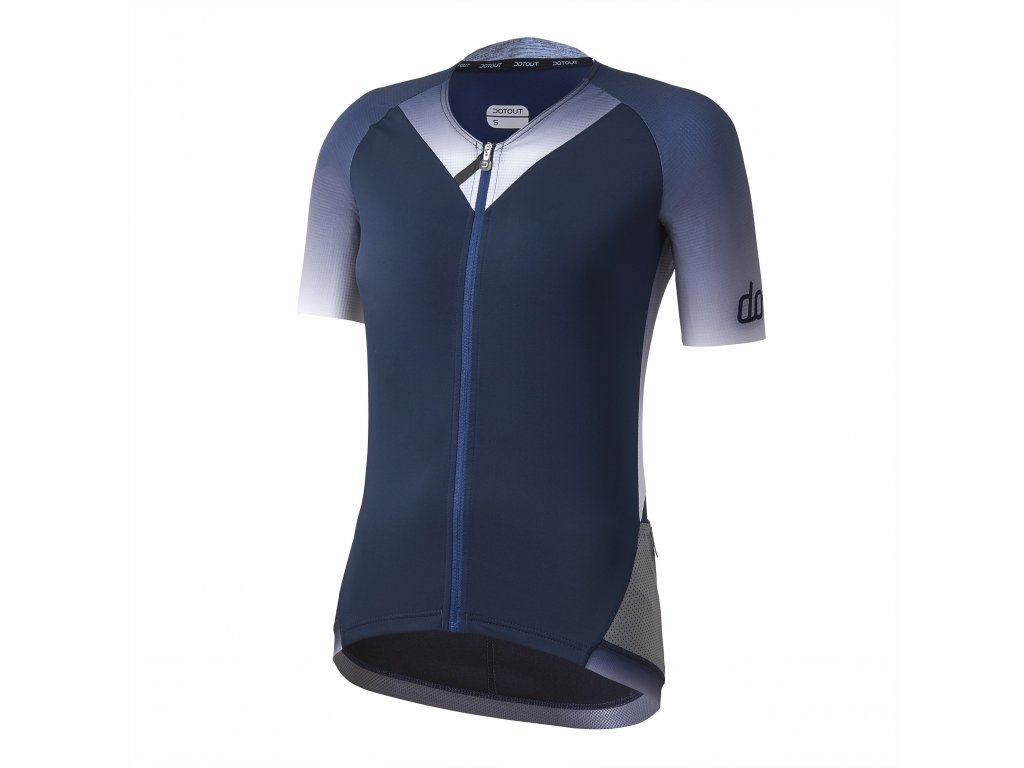 Dámský cyklistický dres Dotout Star W Jersey - Blue