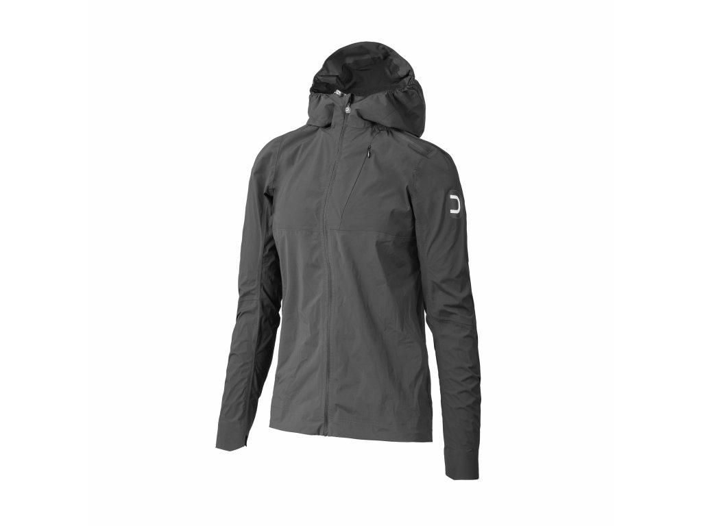 Dámská cyklistická bunda Dotout GPN Hood W Jacket - anthracite