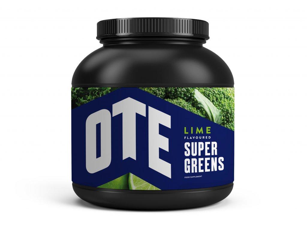 Výživový doplněk OTE Super Greens Limetlka 390g