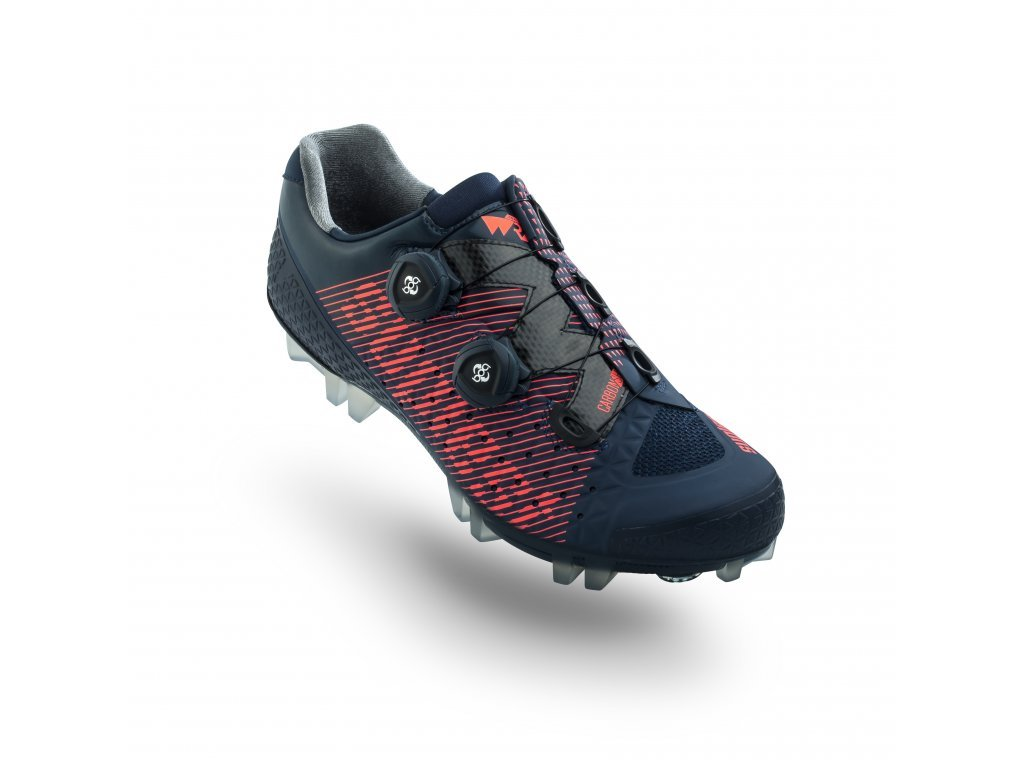 MTB tretry Suplest Crosscountry Pro Edge 3 Navy/Coral