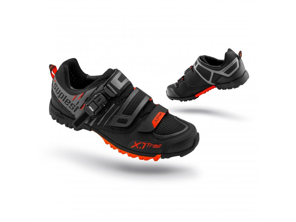 MTB tretry Suplest Offroad Performance Black/Red vel. 42