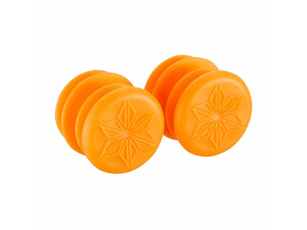 Supacaz zátky do říditek SUPACAZ ENDZ oranžové