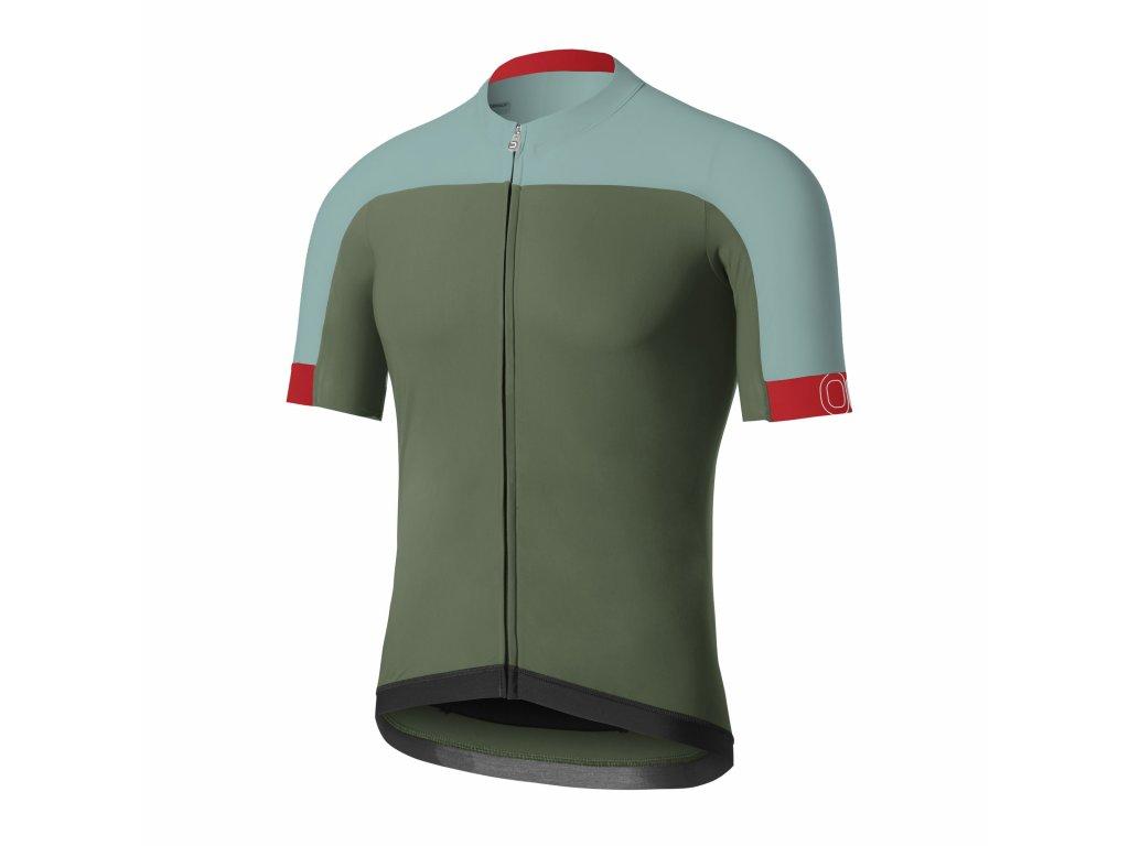 Cyklistický dres Dotout Sonic Jersey - military