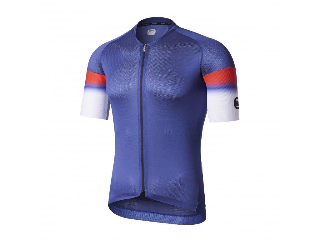 Cyklistický dres Dotout Aero Light Jersey - blue - L