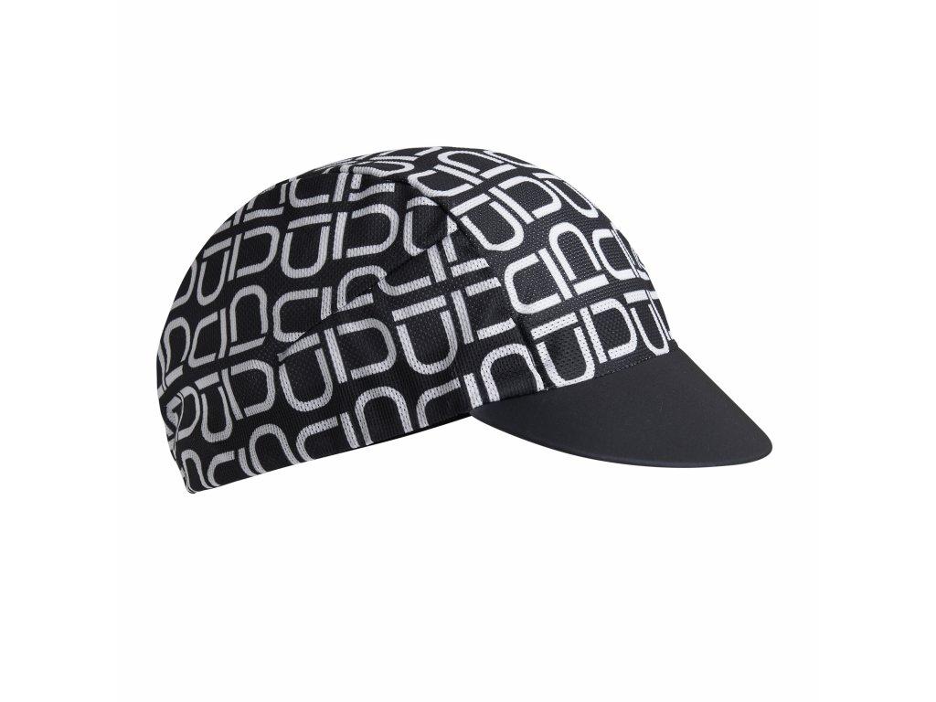 Cyklistická čepička Dotout Aero Light Cap - black-white