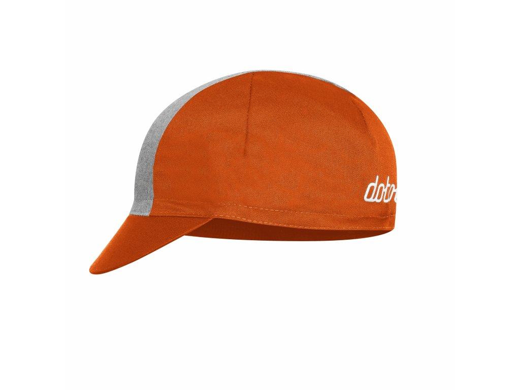 Cyklistická čepička Dotout Epic Cap - orange