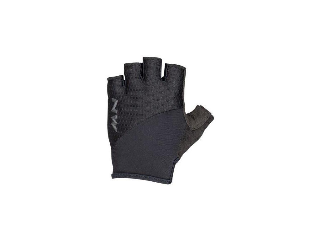 cyklisticke rukavice northwave fast grip gloves short fingers black 93953