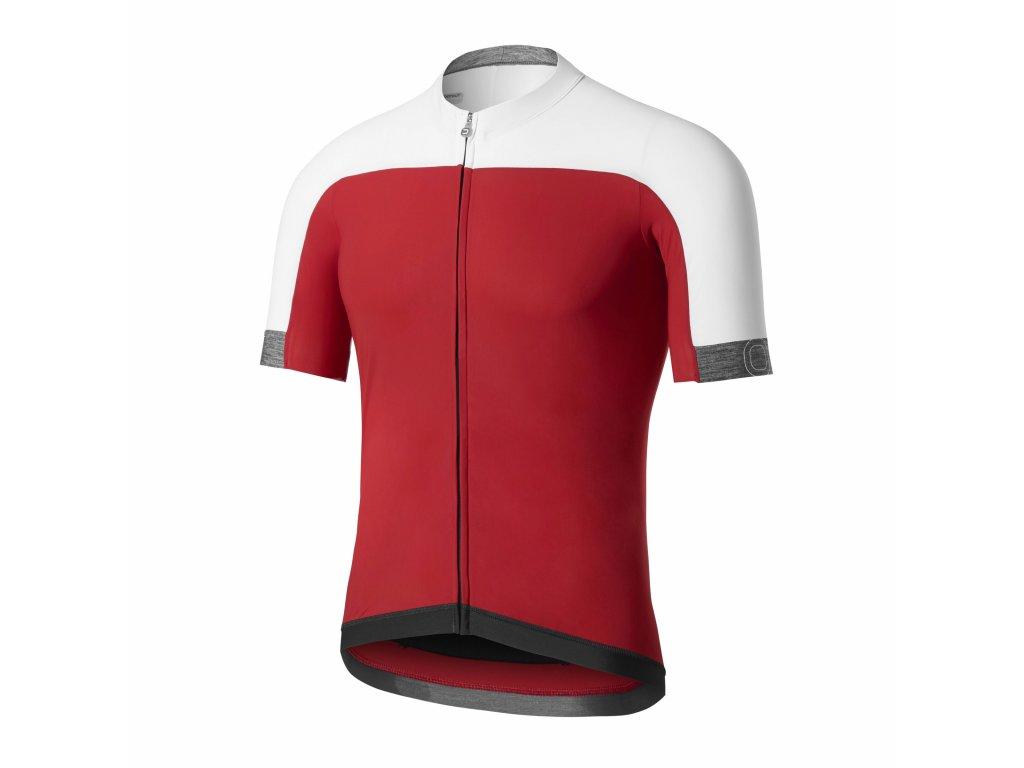 Cyklistický dres Dotout Sonic Jersey - red - L