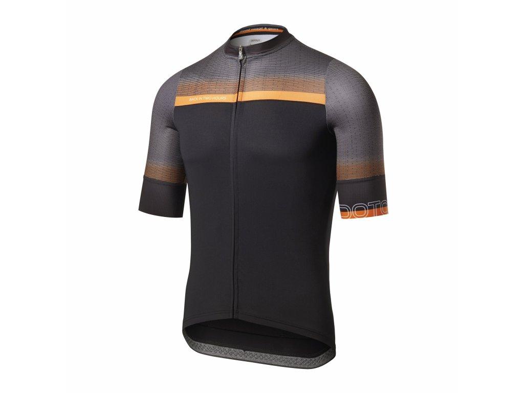 Cyklistický dres Dotout Rainbow Jersey black-L