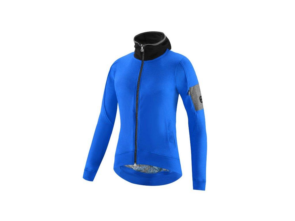 Dámský dres Dotout Gaia W Jersey long sleeve - blue- S