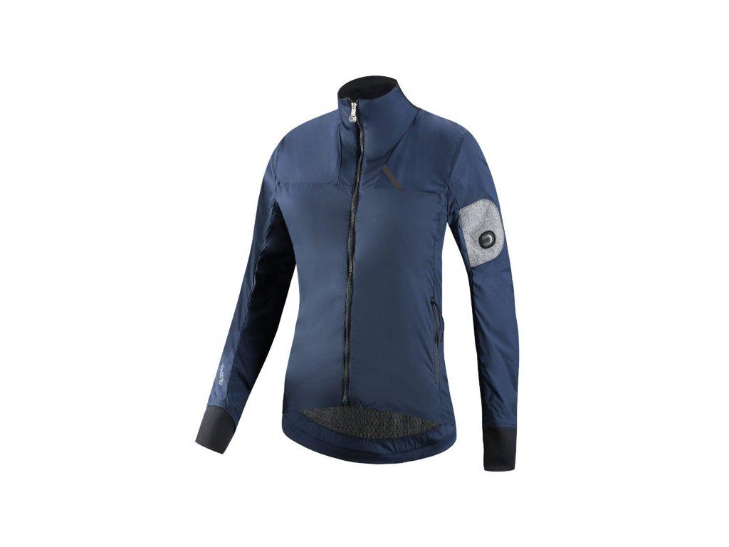 Dámská cyklistická bunda Dotout Verto W jacket - blue - S