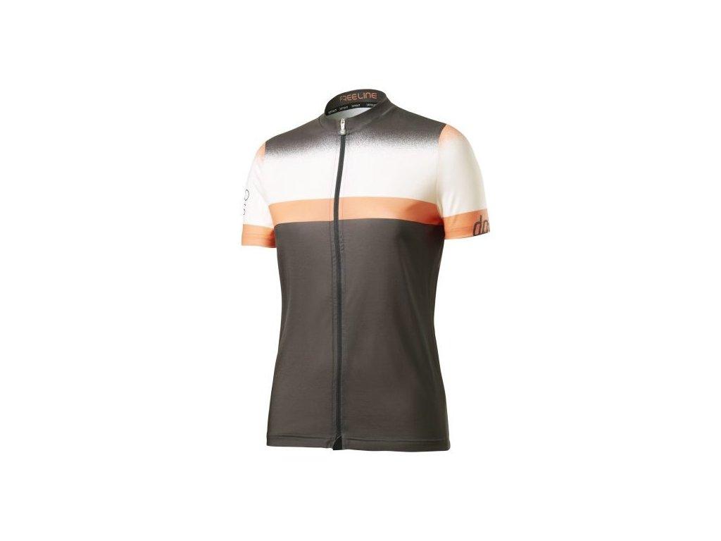 Dámský dres Dotout Horizon W Jersey Grey/Orange - S