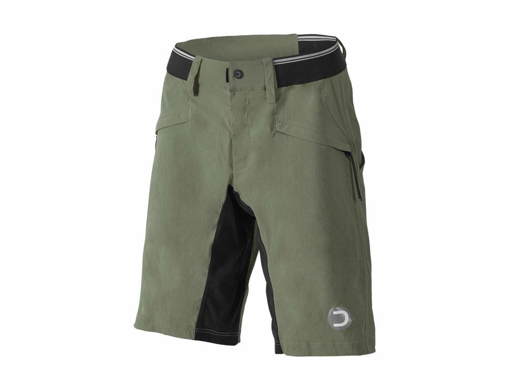 Volné cyklistické kalhoty  Dotout Iron Pant - Olive - L
