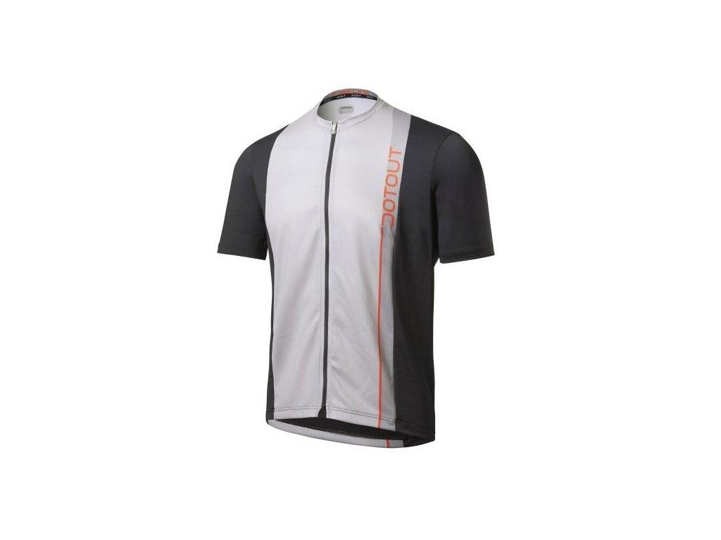 Cyklistický dres  Dotout Trail Jersey black - L