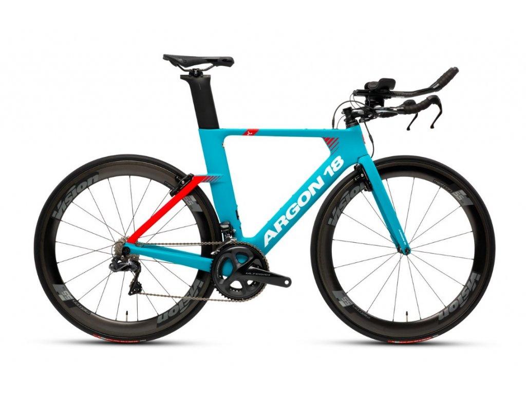 ARGON 18 E117 TRI ULTEGRA 2019 Turquoise/Red