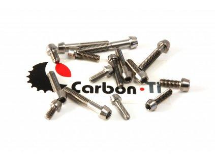 Carbon-Ti Tapered Head Titanium